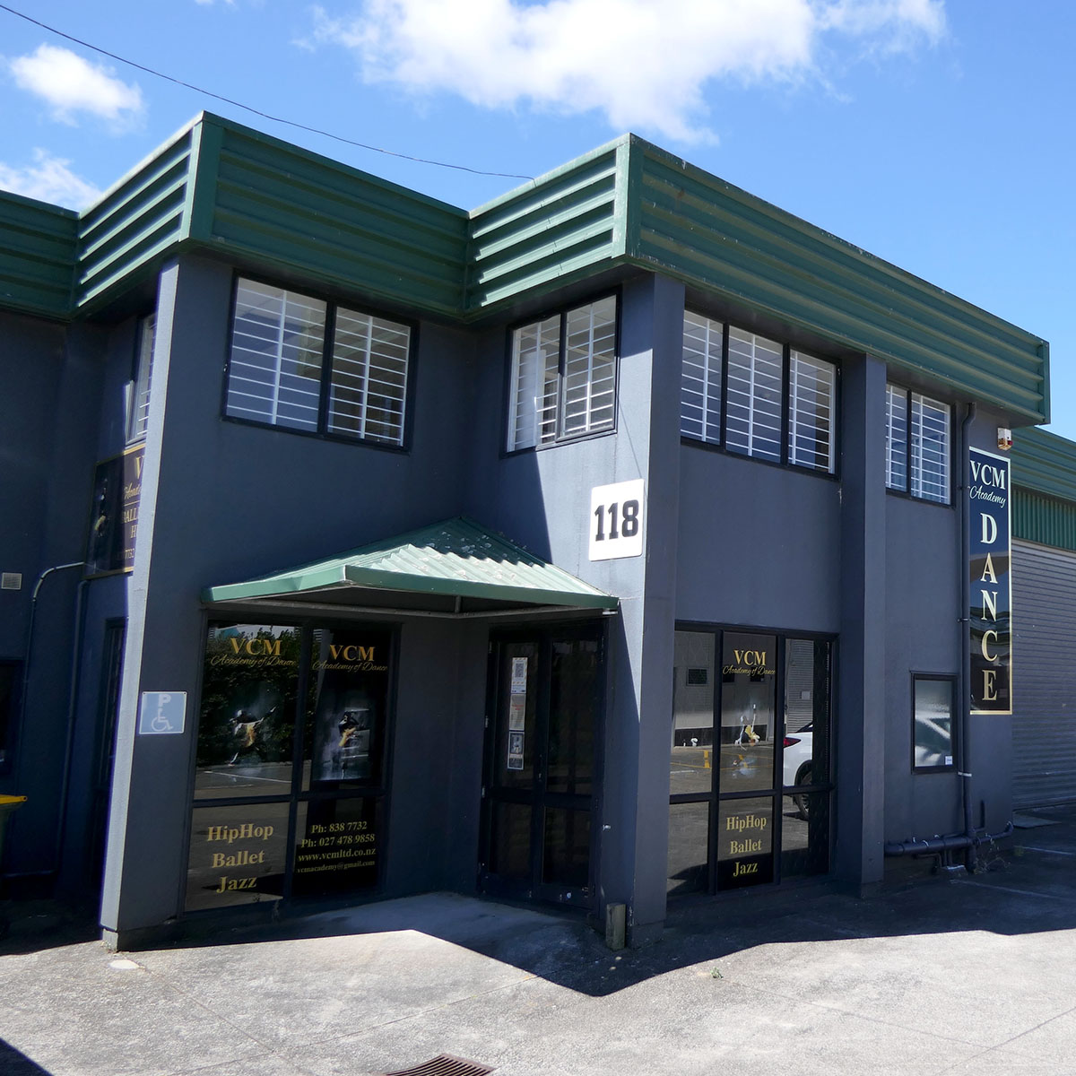 West Auckland's leading dance academy studios in Henderson